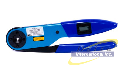 DMC AF8-CC - Standard Adjustable Indent Crimp Tool with Cycle Counter