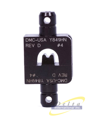 DMC Y849HN - Die Set Double Indent #4 use with HD37
